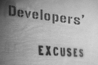 Top 10 Excuses Made by Programmers